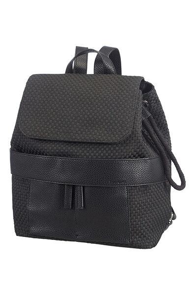 Weave Backpack Black