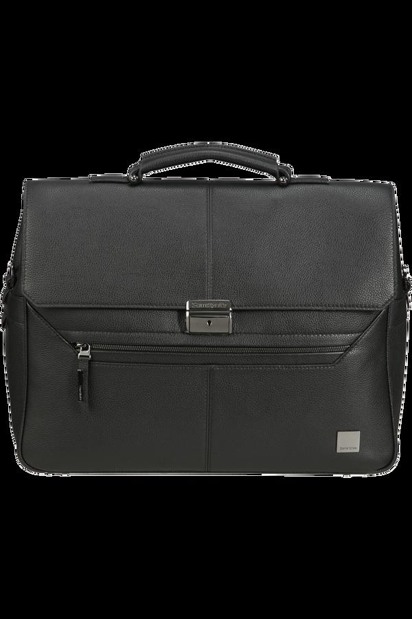Samsonite Senzil Briefcase 2 Gus 15.6'  Black