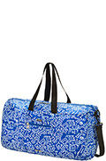 Travel Accessories Duffle Bag Graffiti Blue
