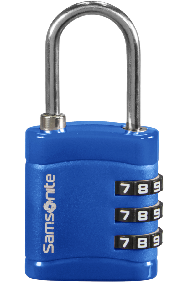 Samsonite Global Ta Combilock 3 dial light Midnight Blue