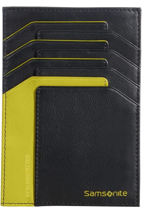 Samsonite Gifty 2017 All In One Wallet  Black/Lime Green