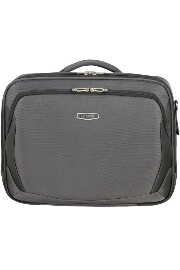 Samsonite X'blade 4.0 Laptop Shoulder Bag  Grey/Black