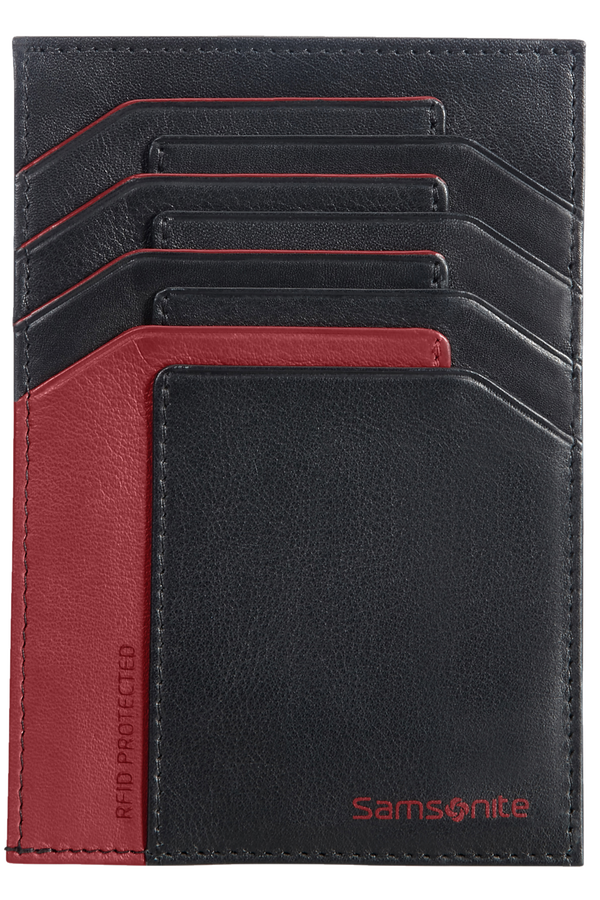 Samsonite Gifty 2017 All In One Wallet  Black/Red