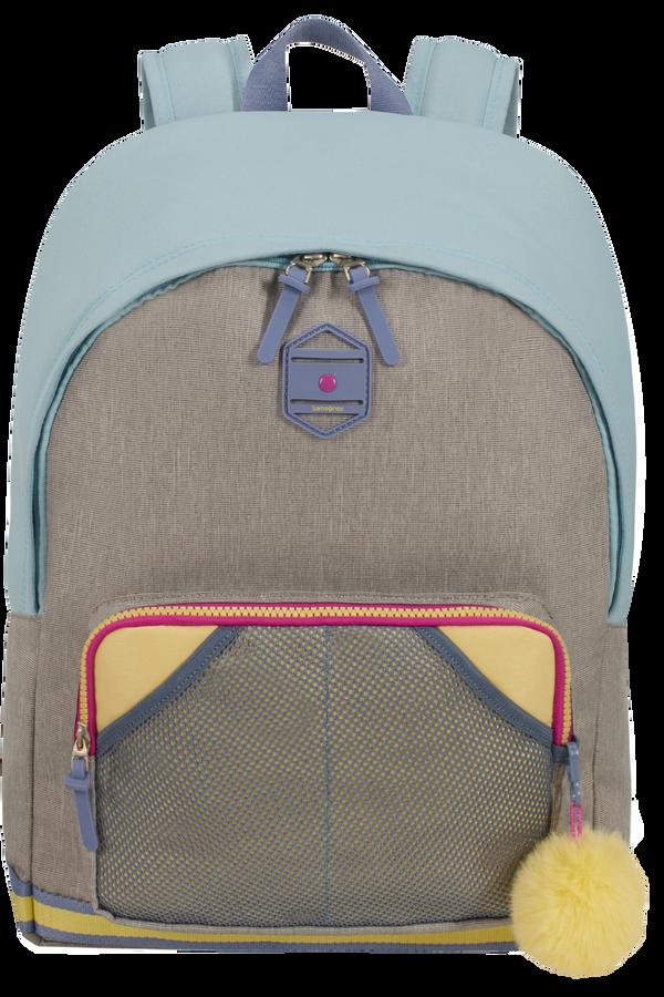 Samsonite Sam School Spirit Backpack L  Preppy Pastel Blue