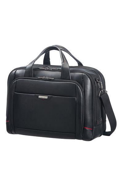 Pro-Dlx 4 Lth Briefcase L