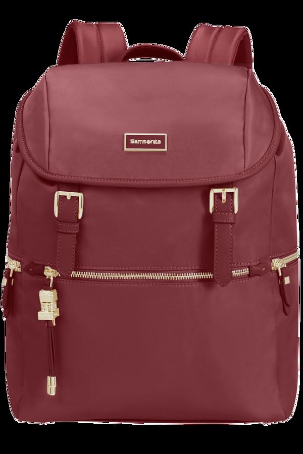 Samsonite Karissa Biz Backpack +Flap  14.1inch Dark Bordeaux