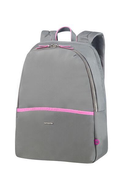 Nefti Laptop Backpack Rock Grey/Fuchsia