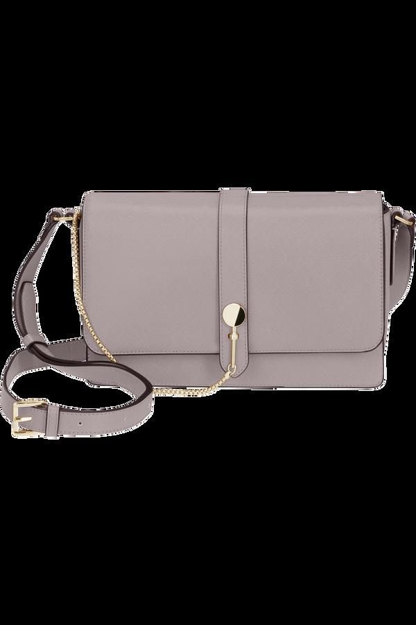 Samsonite My Samsonite Pro Shoulder Bag + Flap  Lilac Grey