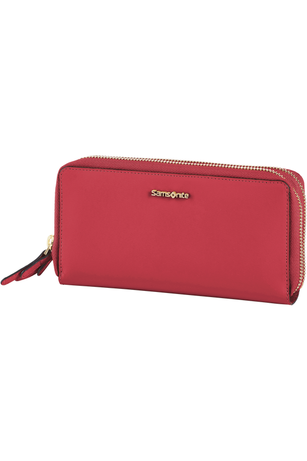 Samsonite Classic Lady Slg Wallet  Scarlet Red
