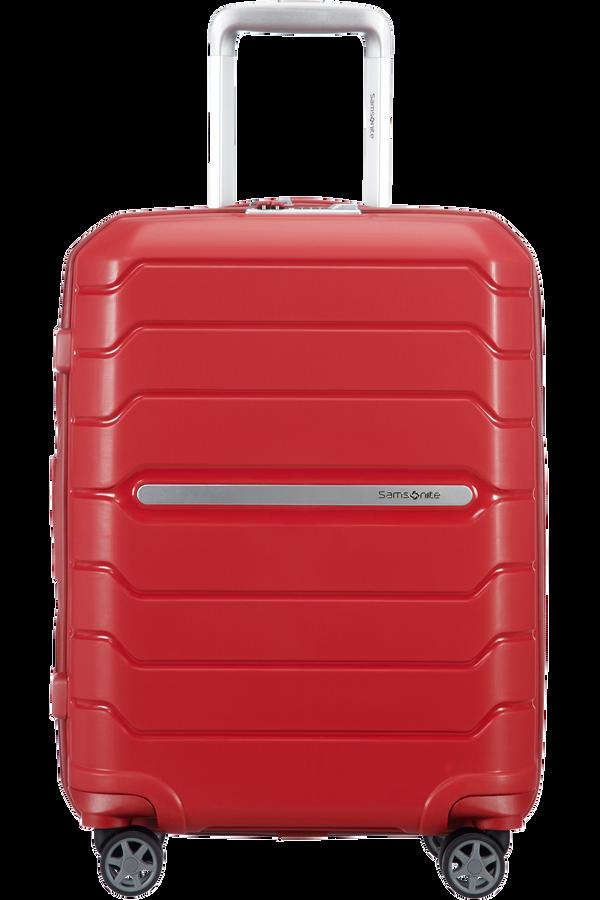 Samsonite Flux Spinner Expandable 55cm  Red