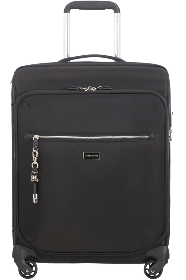 Samsonite Karissa Biz Spinner Expandable 55cm  Black