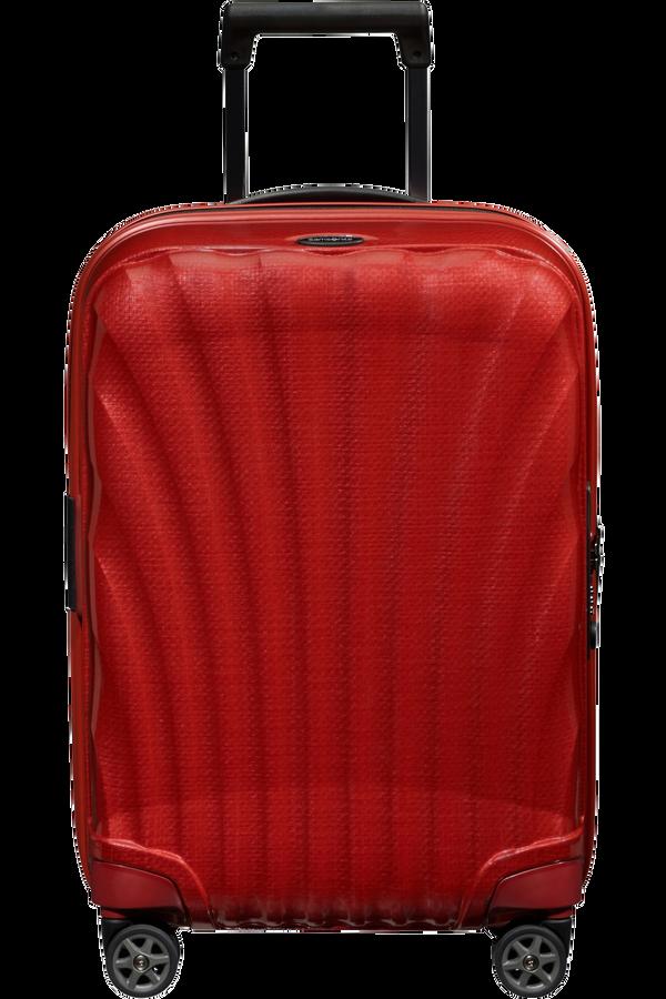 Samsonite C-Lite Spinner Expandable 55cm  Chili red