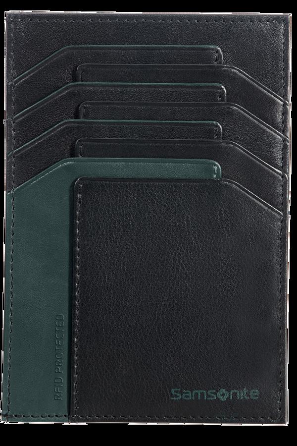 Samsonite Gifty 2017 All In One Wallet  Black/Sea Green