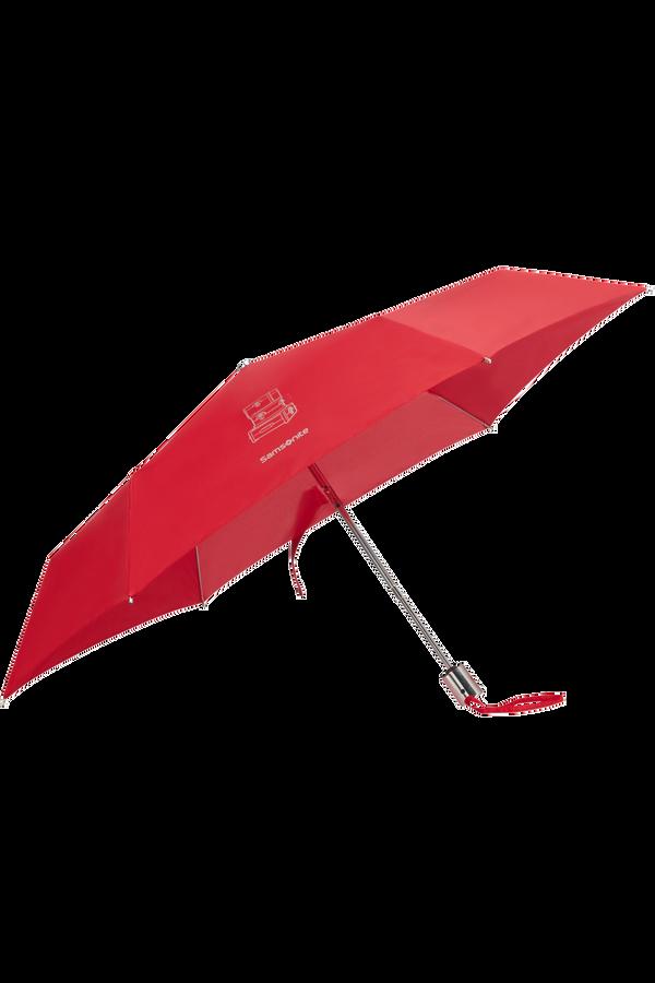 Samsonite Karissa Umbrellas 3 Sect. Auto O/C Slim  Formula Red