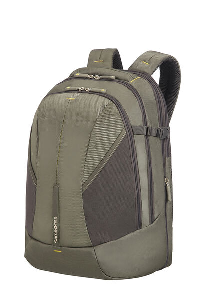 4Mation Laptop Backpack L Olive/Yellow