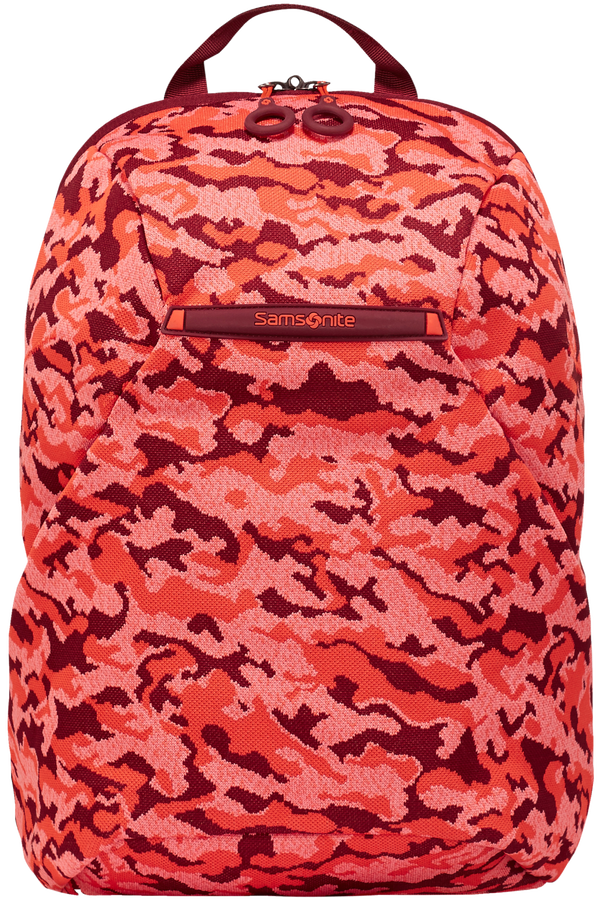 Samsonite Neoknit Laptop Backpack S  Fluo Red Camo