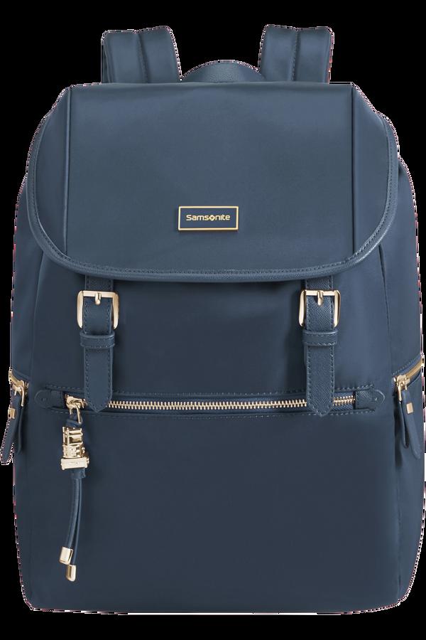 Samsonite Karissa Biz Backpack +Flap  14.1inch Dark Navy