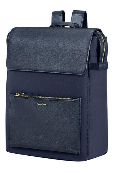 Zalia Laptop Backpack Dark Blue
