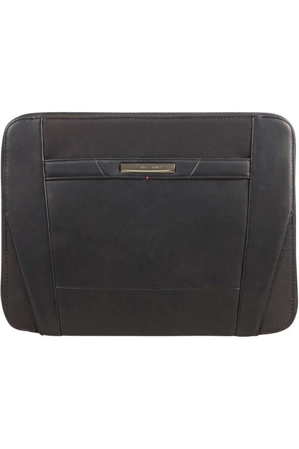 Samsonite Stationery Pro-Dlx 5 Zip Folder A4  Black