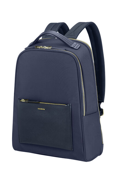 Zalia Laptop Backpack Dark Blue