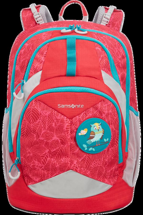 Samsonite Sam Ergofit Ergonomic Backpack L  Jungle Red