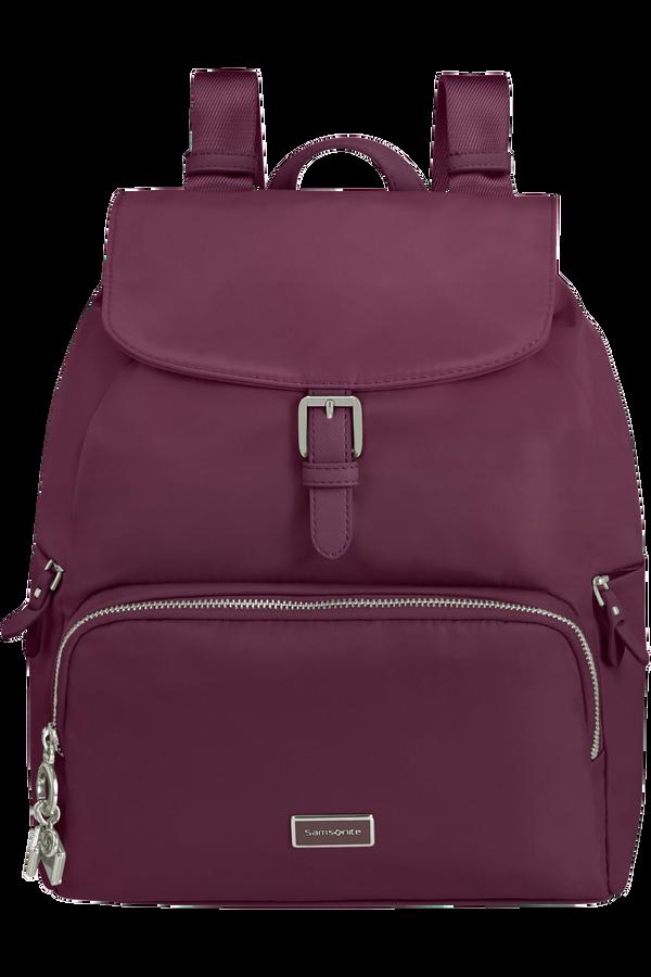 Samsonite Karissa 2.0 Backpack 3 Pockets 1 Buckle  Eco Grape Wine