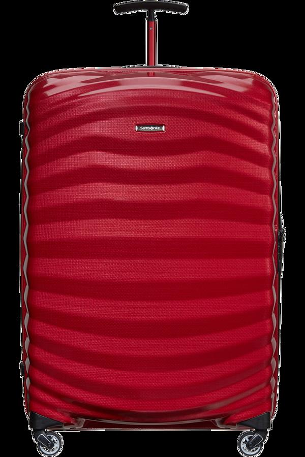 Samsonite Lite-Shock Sport Spinner 81cm  Bright Red/Silver