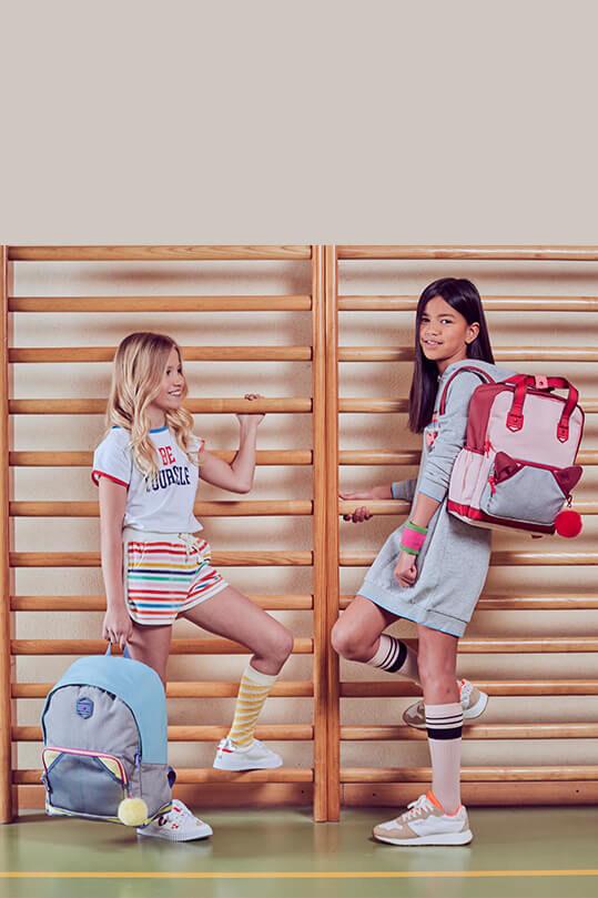 Retro divat-előre Lányok