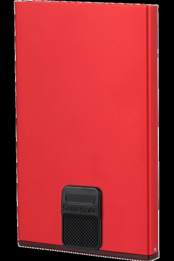 Samsonite Alu Fit 201 - Slide-up Case  Red