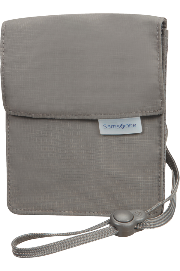 Samsonite Global Ta RFID Neck Pouch Eclipse Grey