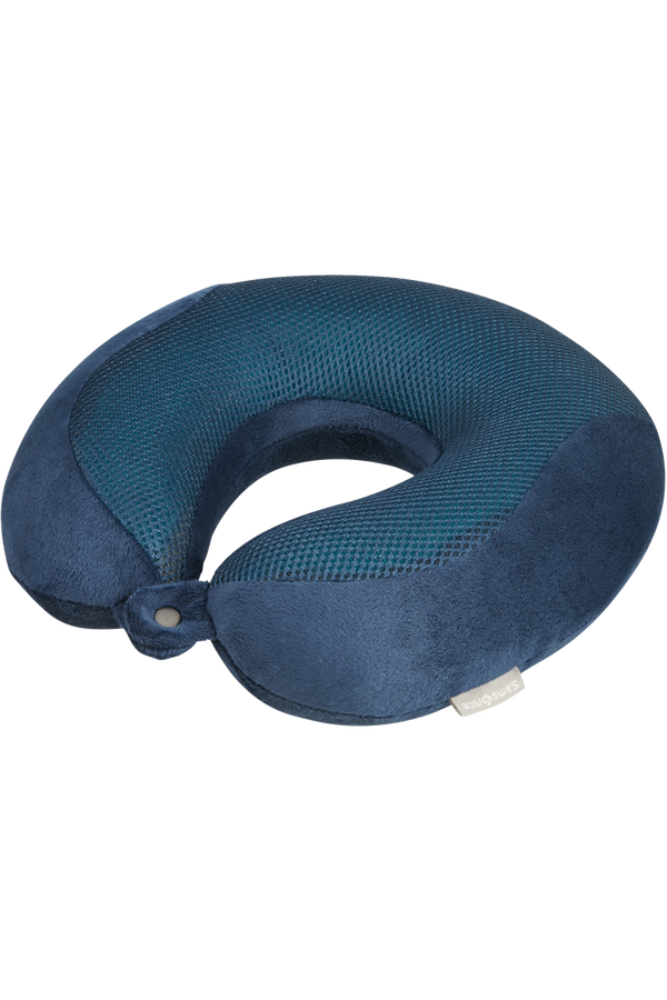 Samsonite Travel Accessories Luxury Memory Foam Pillow  INDIGO BLUE