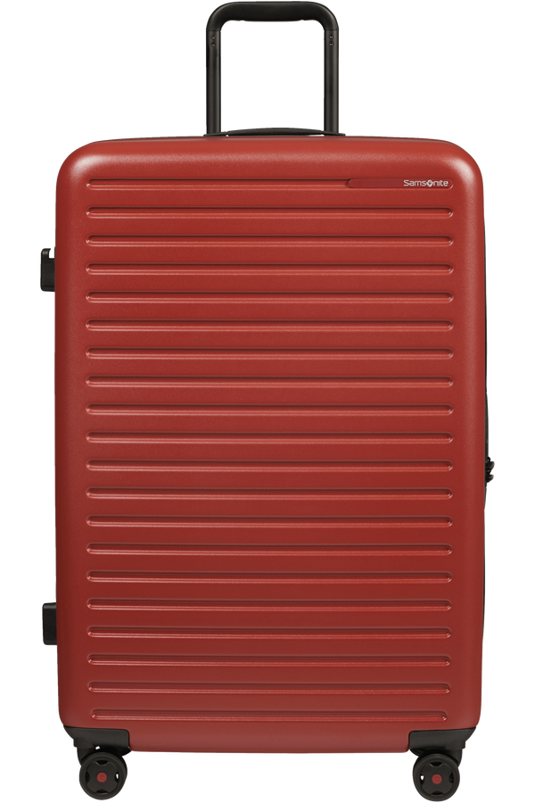 Samsonite Stackd Spinner 75cm  Red