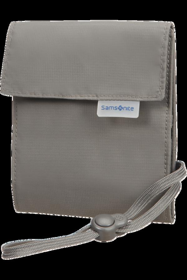 Samsonite Global Ta Multi-Pocket Neck Pouch  Eclipse Grey
