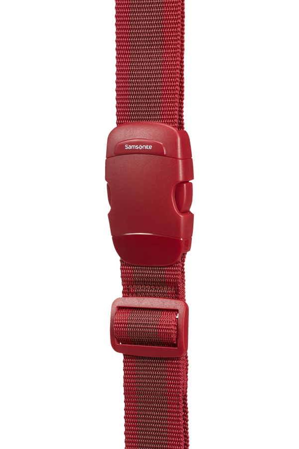 Samsonite Global Ta Luggage Strap 38mm Red