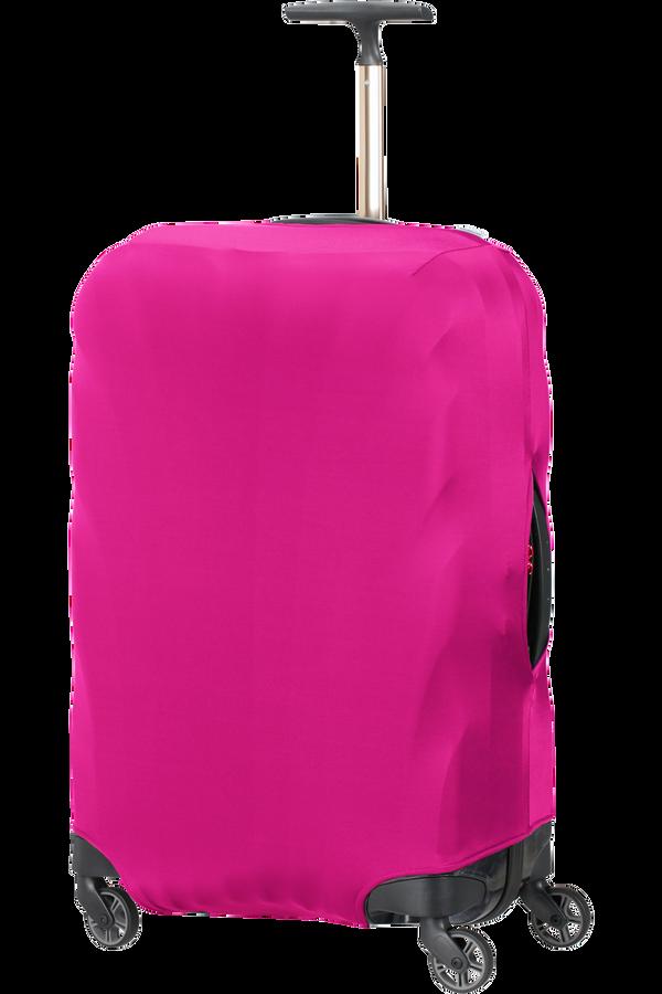 Samsonite Global Ta Lycra Luggage Cover M  Deep Pink
