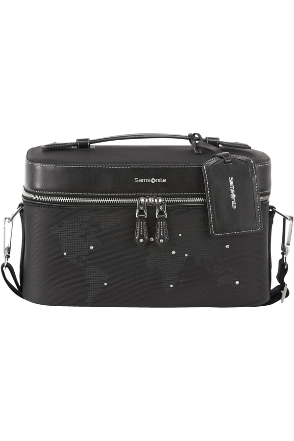 Samsonite Gallantis Ltd Beauty Case Sw  Crystal Black