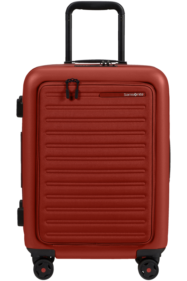Samsonite Stackd Spinner Expandable Easy Access 55cm  Red