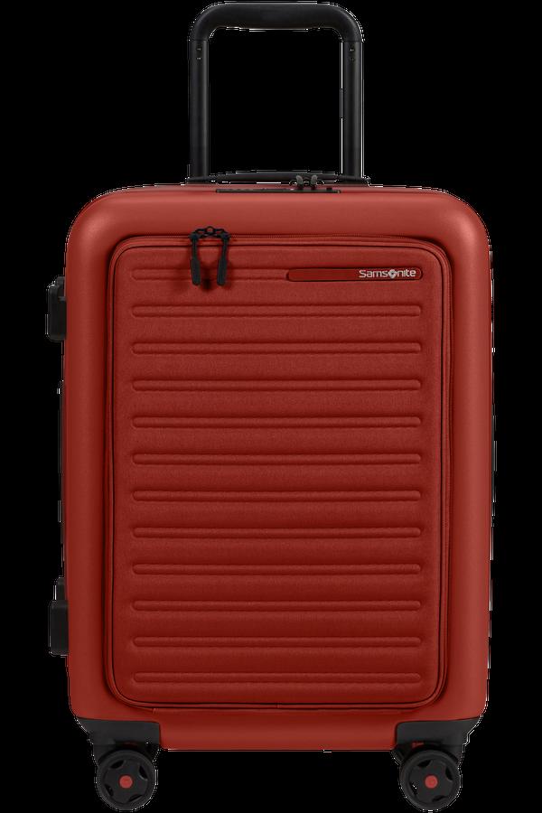 Samsonite Stackd Spinner Expandable Easy Access 55cm  Red