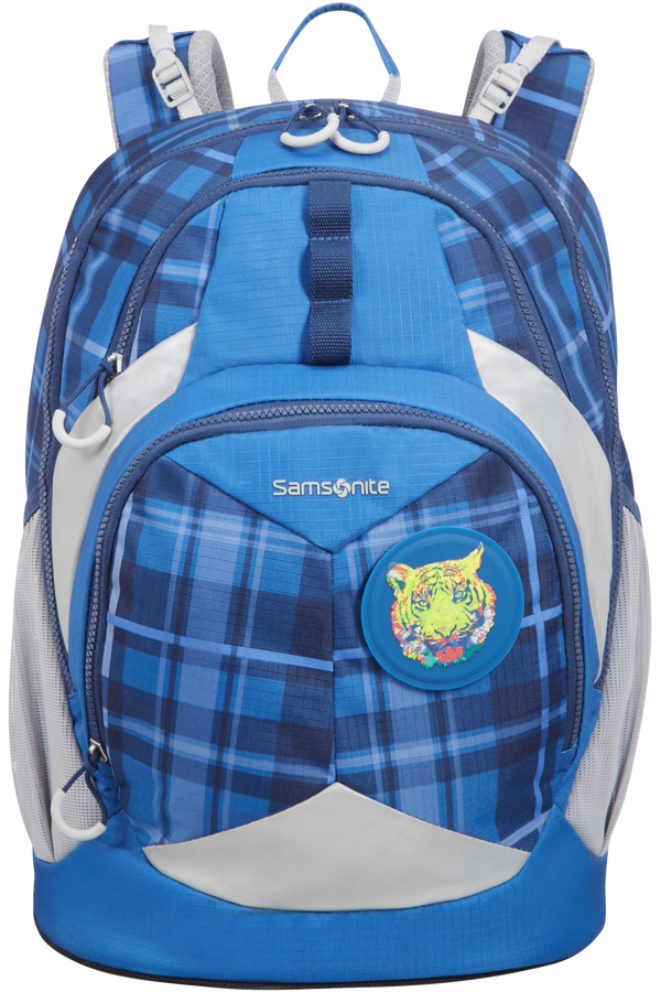 Samsonite Sam Ergofit Ergonomic Backpack L  Check Tiger