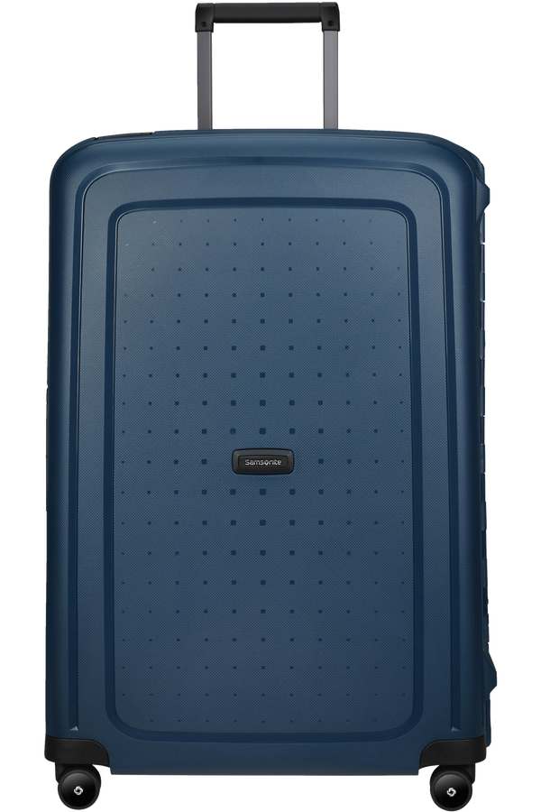 Samsonite S'cure Eco Spinner Post Consumer 75cm  Navy Blue