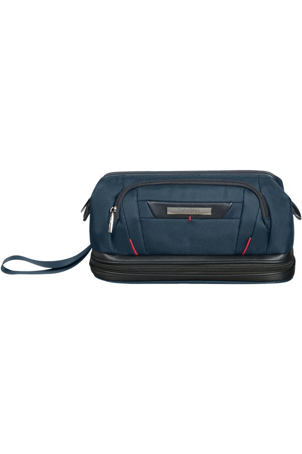 Samsonite Pro-Dlx 5 C. Cases Toiletry Bag Large Opening  Oxford Blue