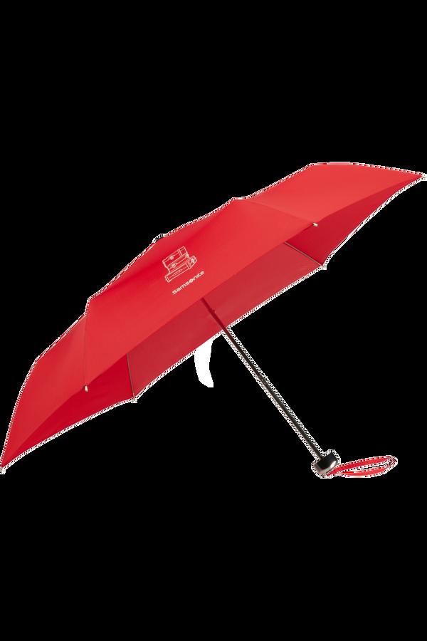 Samsonite Karissa Umbrellas 3 Sect. Ultra Mini Flat  Formula Red