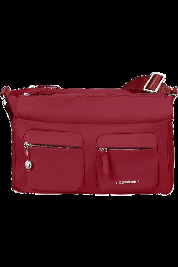 Samsonite Move 3.0 Horizontal Shoulder Bag + Flap  Autumn Red