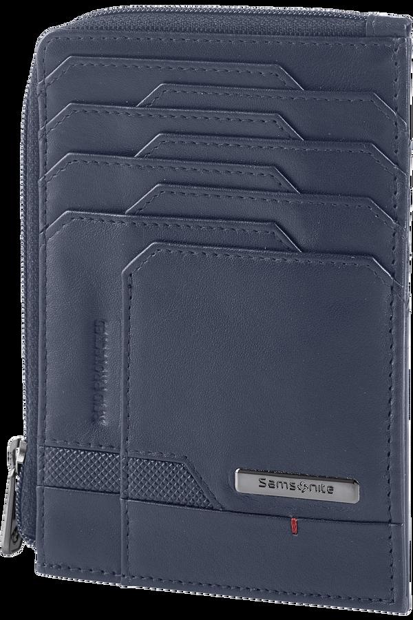 Samsonite Pro-Dlx 5 Slg 727-All in One Wallet Zip  Oxford Blue