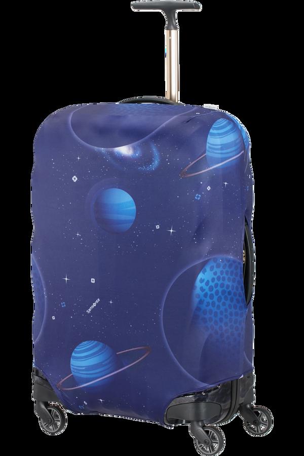 Samsonite Global Ta Lycra Luggage Cover M  Spaceman