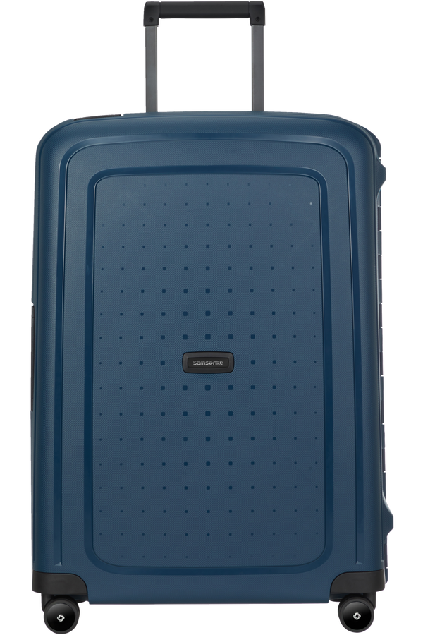Samsonite S'cure Eco Spinner Post Consumer 69cm  Navy Blue