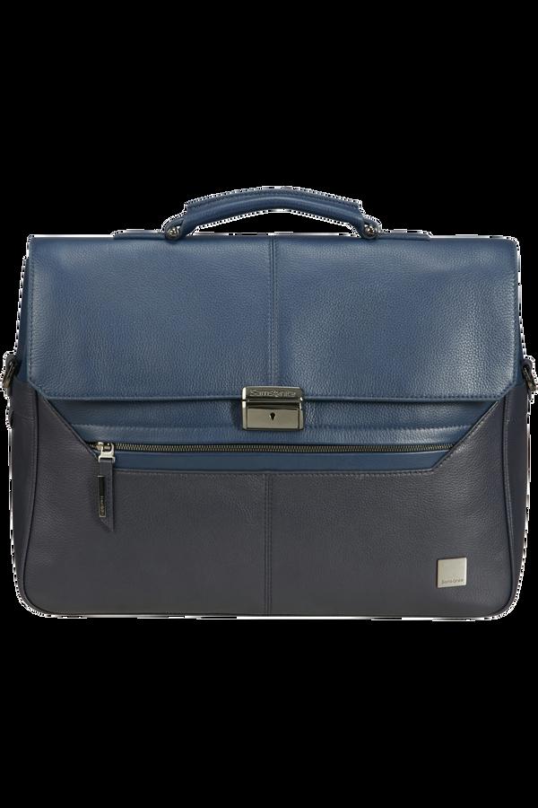 Samsonite Senzil Briefcase 2 Gus 15.6'  Blue