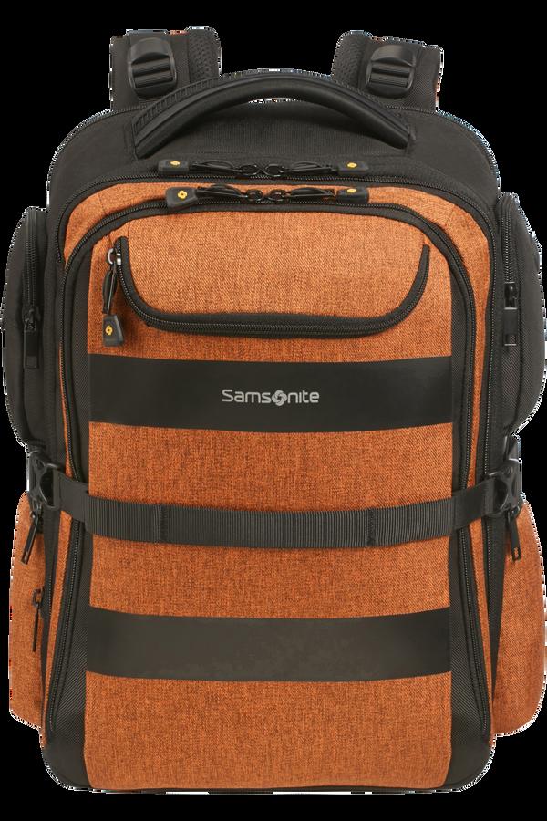 Samsonite Bleisure Backpack 15.6' Exp Overnight  Deep Orange