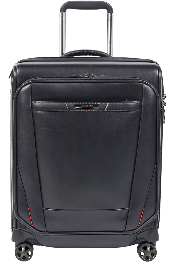 Samsonite Pro-Dlx 5 Lth Spinner Expandable 55cm  Black