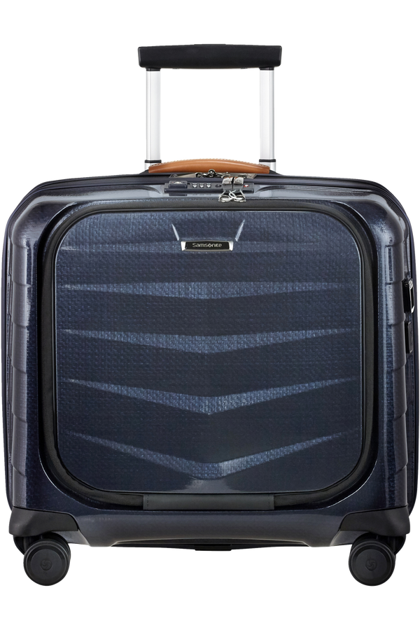 Samsonite Lite-Biz Spinner Rolling Tote USB  Midnight Blue